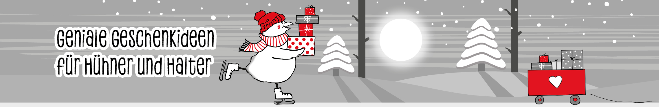 Gesucht: Das perfekte Geschenk für Hühnerfreundinnen und -freunde