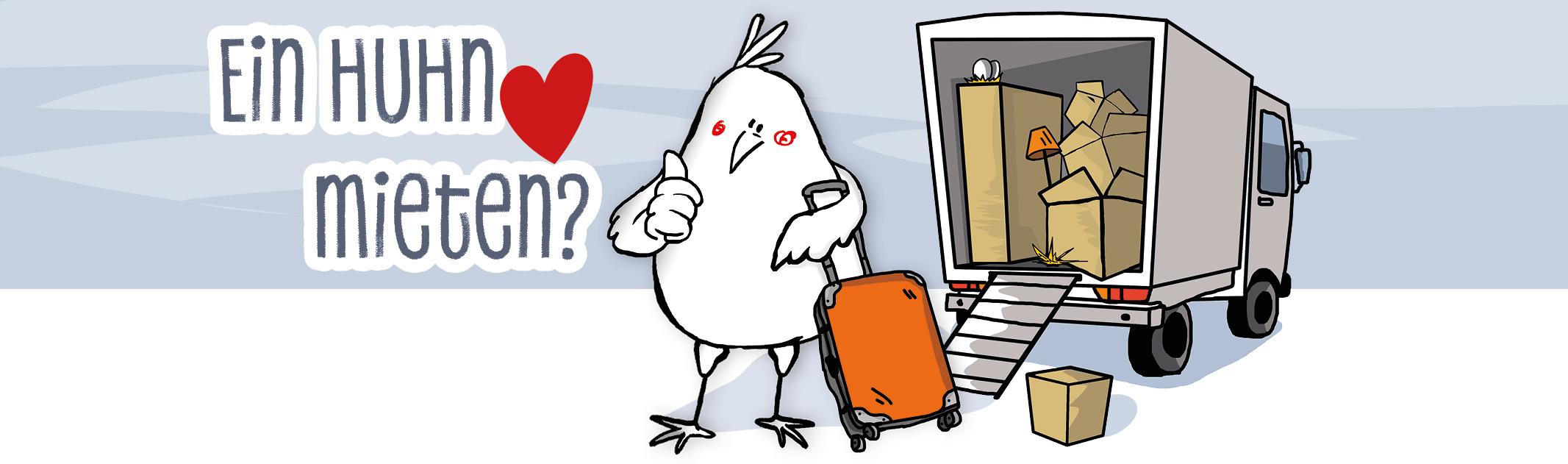 Auf´s Huhn kommen: Hühner mieten & Hühnerpatenschaft