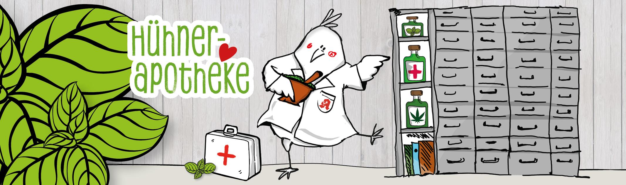 Hausapotheke & Erste Hilfe bei Hühnern