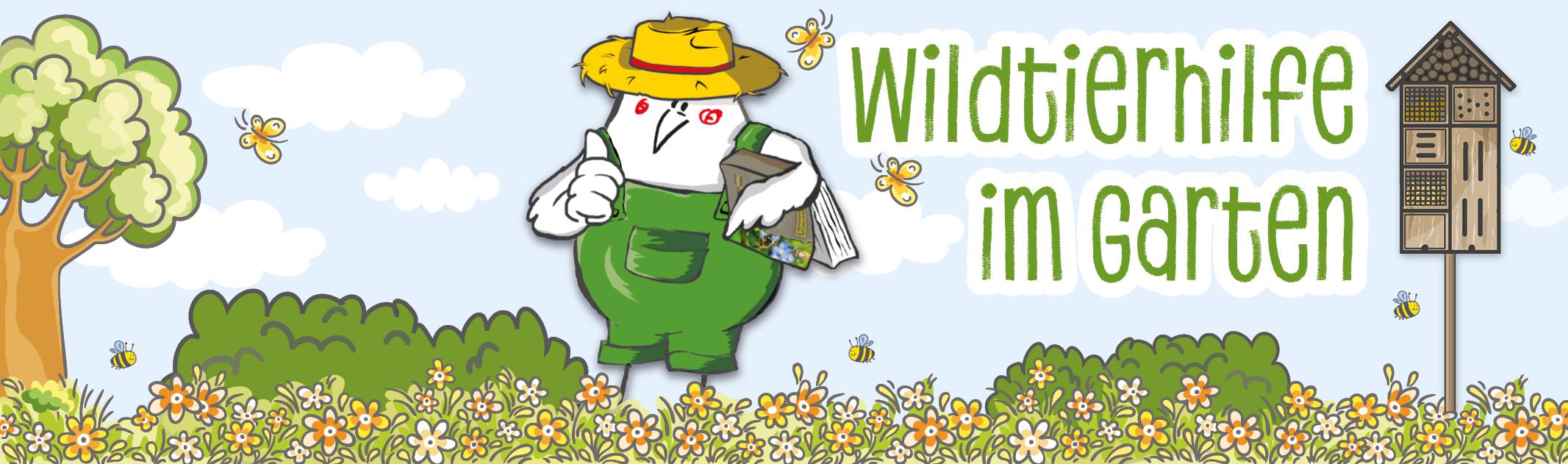 Wildtierhilfe im Garten – Frühling und Sommer