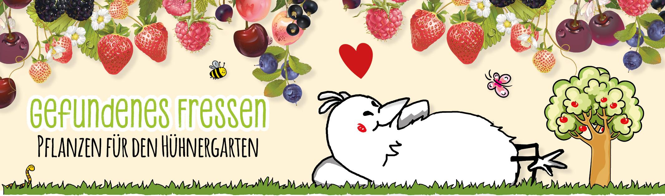 Gefundenes Fressen: Pflanzen für den Hühnergarten