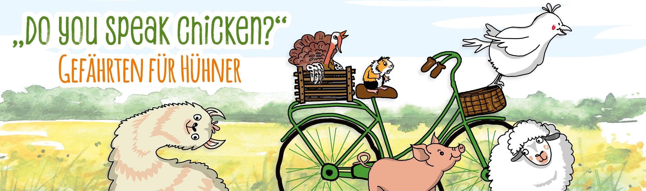 Do you speak chicken? – Gefährten für Hühner
