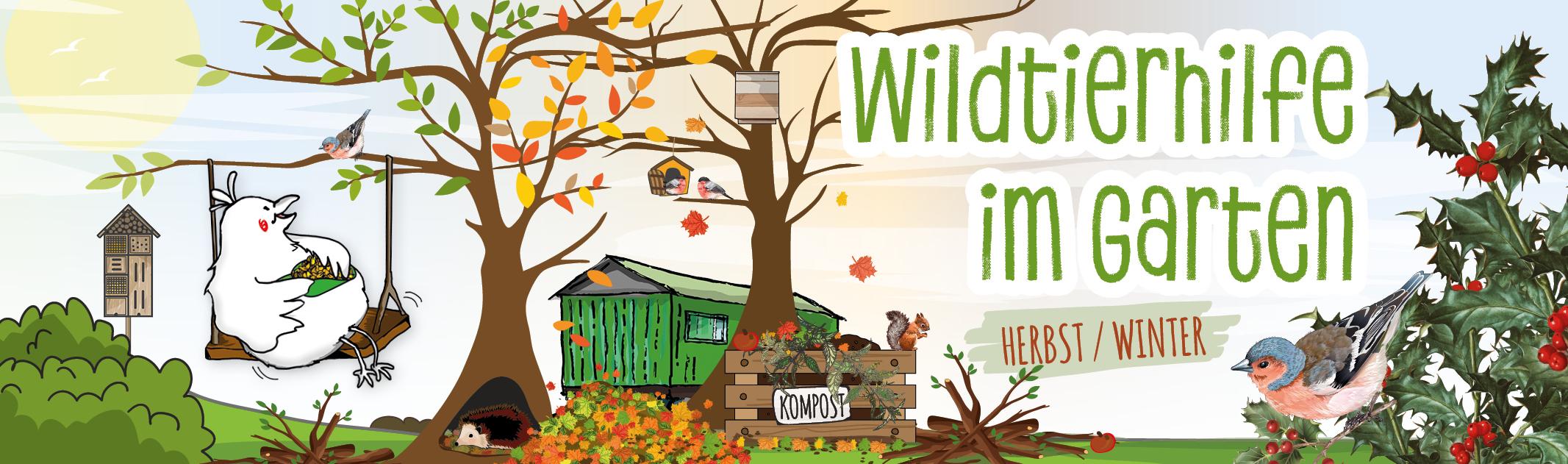 """""""Wildtierhilfe im Garten – Herbst & Winter"""""""