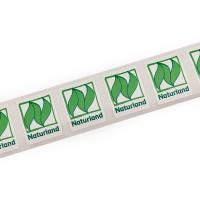 Naturland Sticker – kleiner Aufkleber mit farbigem Naturland Logo