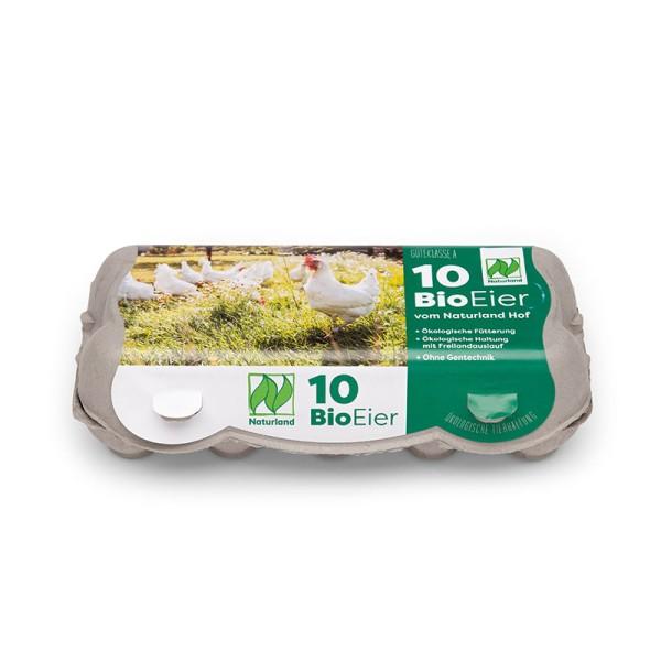 10er Swing-Pac Eierschachteln mit Etikett Naturland Vorteilspaket mit 352 Stück
