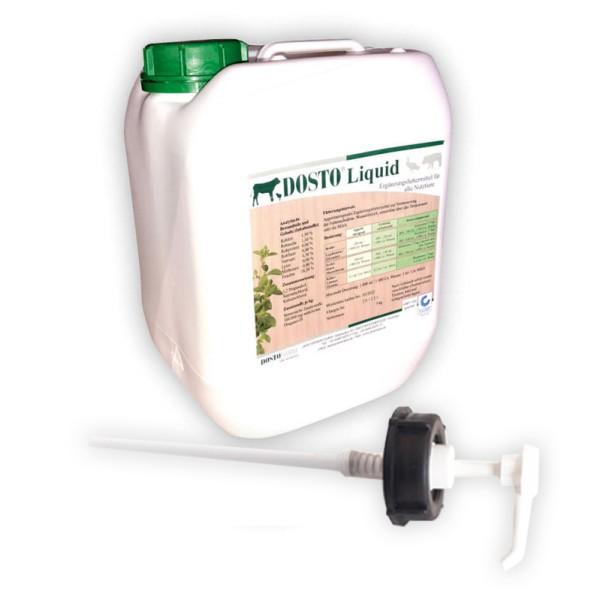 Dosto Liquid 5 kg - mit 10 % Oregano-Öl zur Verabreichung über die Tränke