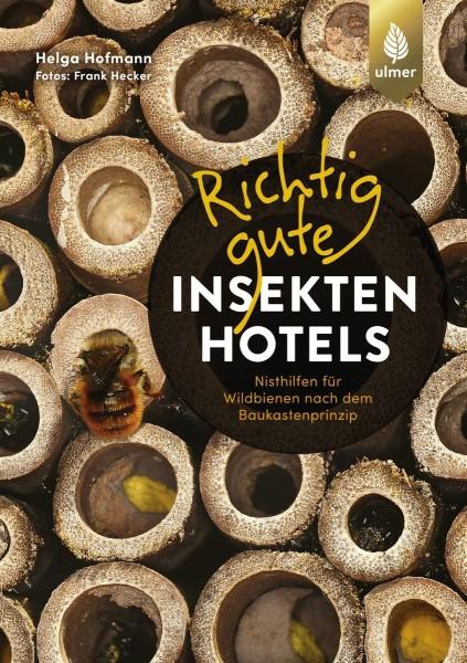 """Buch """"Richtig gute Insektenhotels"""" – Nisthilfen nach dem Baukastenprinzip"""