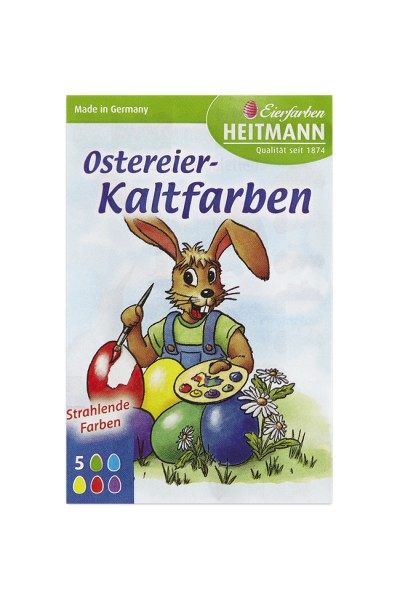 Ostereier Kaltfarben 5 Eierfarben-Tabletten