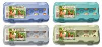 510 Stück 10er Eierschachteln Freilandhaltung grün