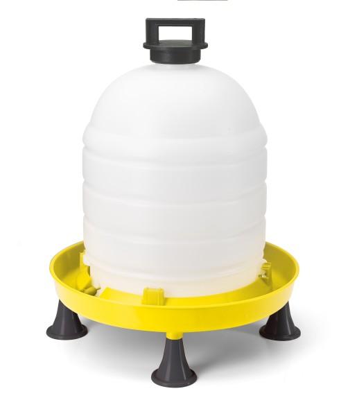 Siphontränke 15 Liter mit Topverschluss und Füßen