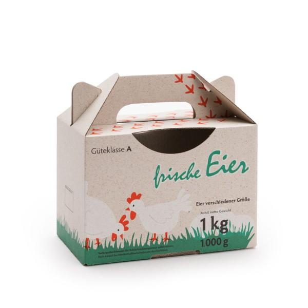 1 kg Box GreenBox mit farbigem Aufdruck – Grasbox