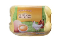 Sonderposten 456 Stück 6er Eierschachteln Fehldruck