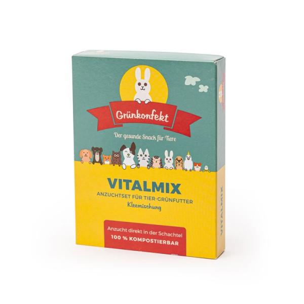 Grünkonfekt Vitalmix – gesunde Kleemischung aus bestem Saatgut selbst herstellen