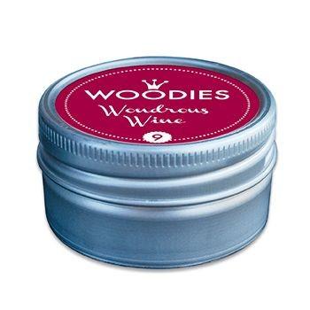 Stempelkissen-Dose für Woodies-Stempel Weinrot