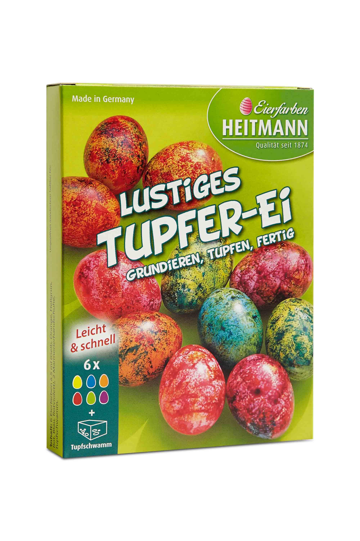 1 Packung 5 Farbtabletten in verschiedenen Farben Iris Eierfarben