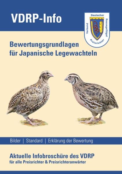 Bewertungsgrundlagen für Japanische Legewachteln