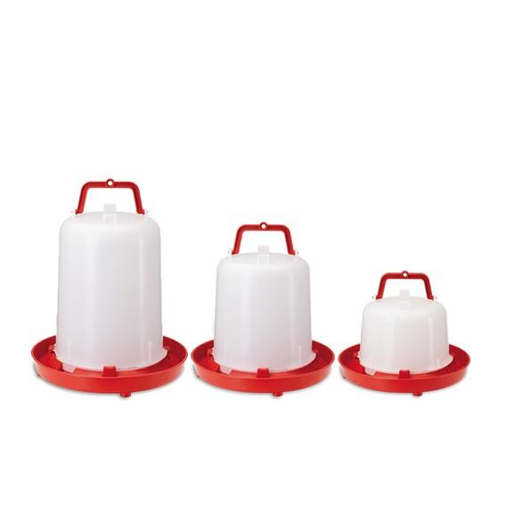Tränke mit Tragegriff (5/10/15 Liter) rot