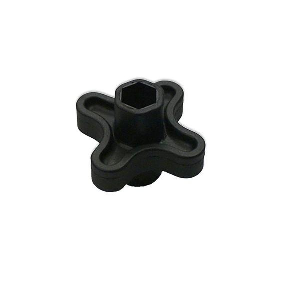 Einschraubschlüssel für Edelstahl Tränknippel | Bodenstrangtränke Bausatz Nippeltränke