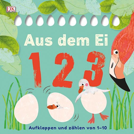 """Kinderbuch """"Aus dem Ei – 1 2 3"""" – zum Zählen lernen"""