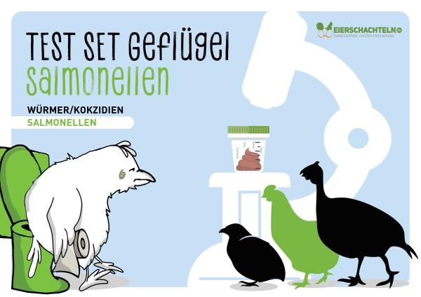 Stall-Check / Test auf Salmonellen – für Geflügelbetriebe & privat