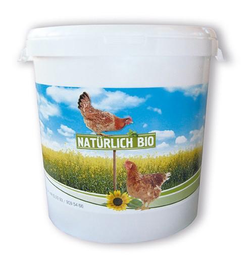 Futtereimer / Futtertonne für 10 oder 20 kg Hühnerfutter