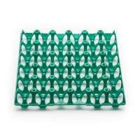 120 Stück Kunststoff-Höckerlagen, Gebrauchtware grün