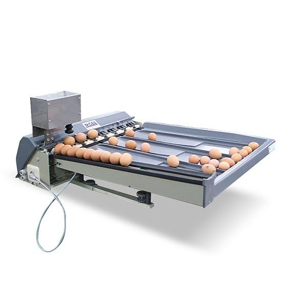 Eiersortiermaschine Mobanette 3 mit Eierstempel – vollautomatisch und genau