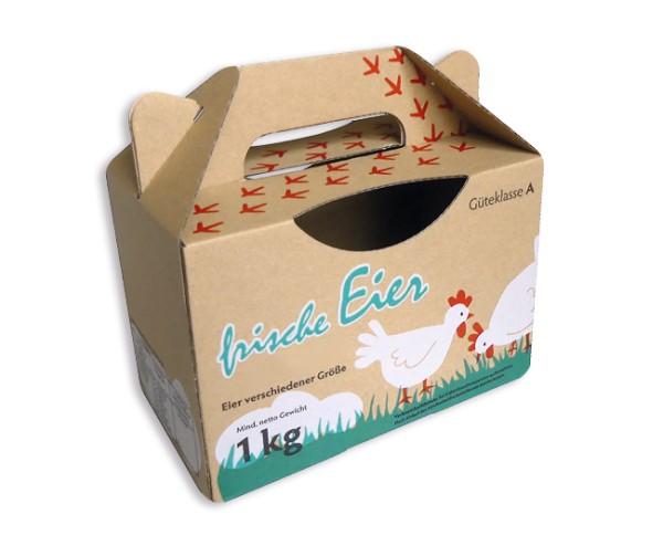 Eierbox ein Kilogramm
