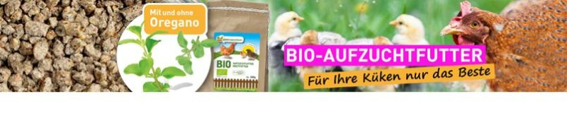Bio-Aufzuchtfutter – Für Ihre Küken nur das Beste