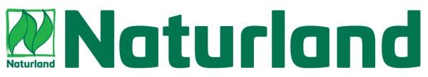 Naturland Trecker- und Autoaufkleber – großer Aufkleber mit farbigem Naturland Logo