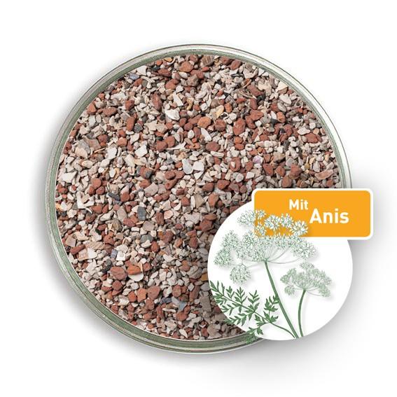 Premium Muschelgrit-Mix für Geflügel mit Anis – natürliches Mineralfuttermittel
