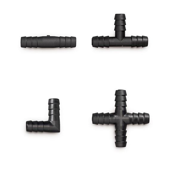 10 mm Schlauchverbinder für automatisches Tränkensystem (Niederdrucksystem)