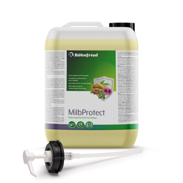 MilbProtect 5 Liter Kanister – wasserlösliches Stärkungsmittel für Geflügel