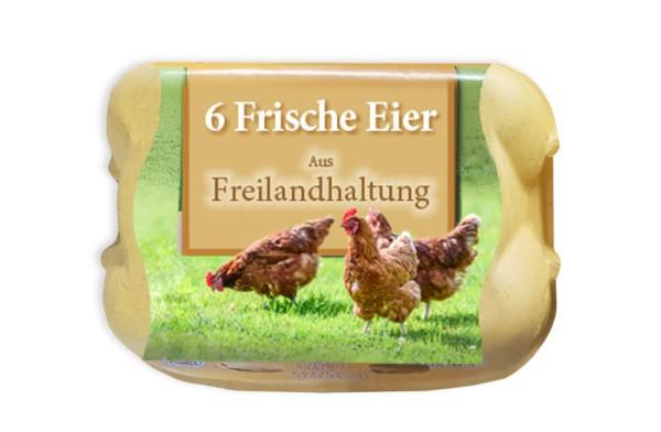 Sonderposten: 5670 Stück je Palette 6er Eierschachteln Fehldruck