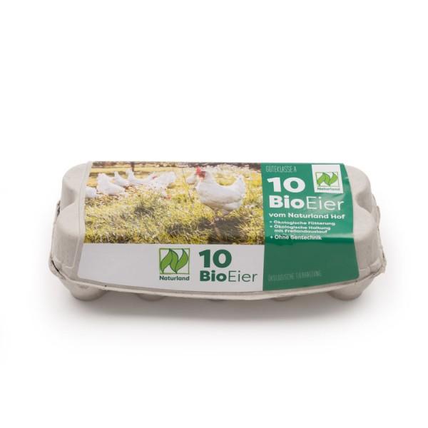 376 Stück 10er ComPac Eierschachteln mit Etikett Naturland Vorteilspaket