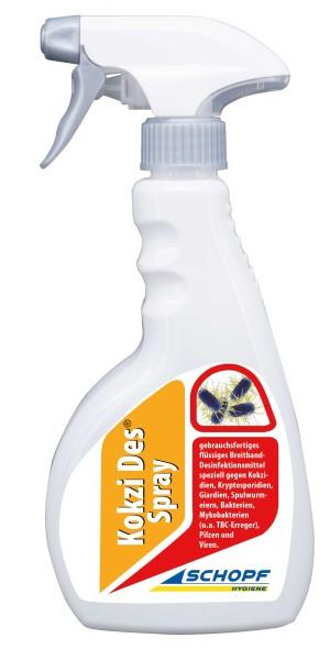 Kokzi Des 500 ml, anwendungsfertig im Pumpzerstäuber – für Stall & Auslauf