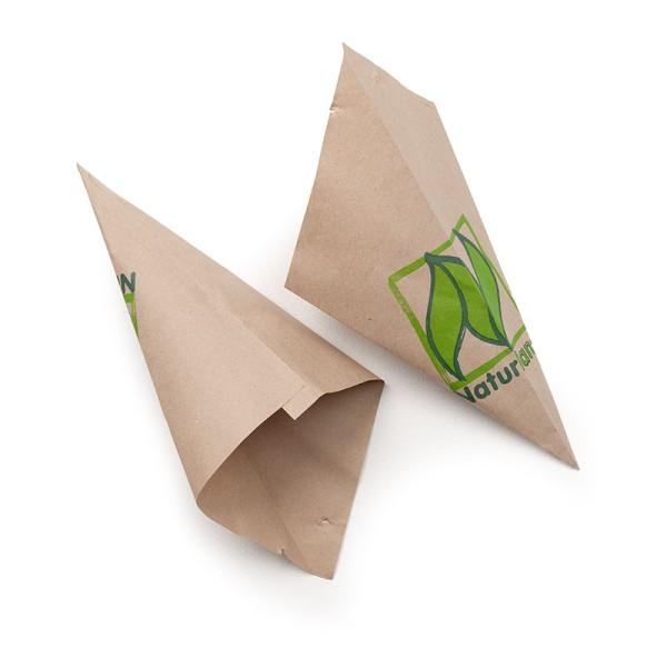 Spitztüten – mit Naturland-Logo, in verschiedenen Größen erhältlich 1000 Stück