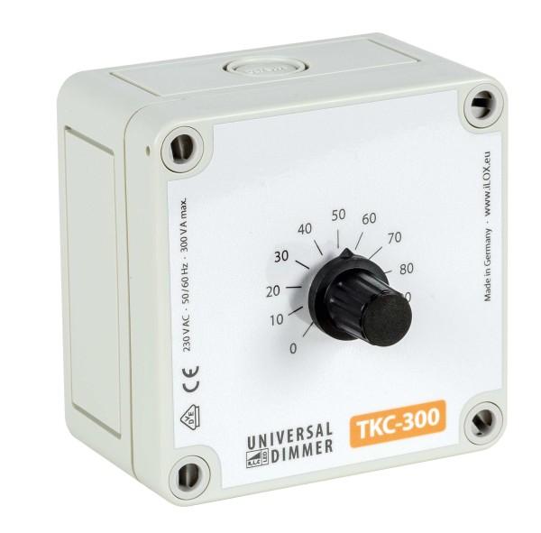 Dimmer Elektronik Drehknopf Dimmer für Stallbeleuchtung im Wandgehäuse ILOX TKC-300-AP