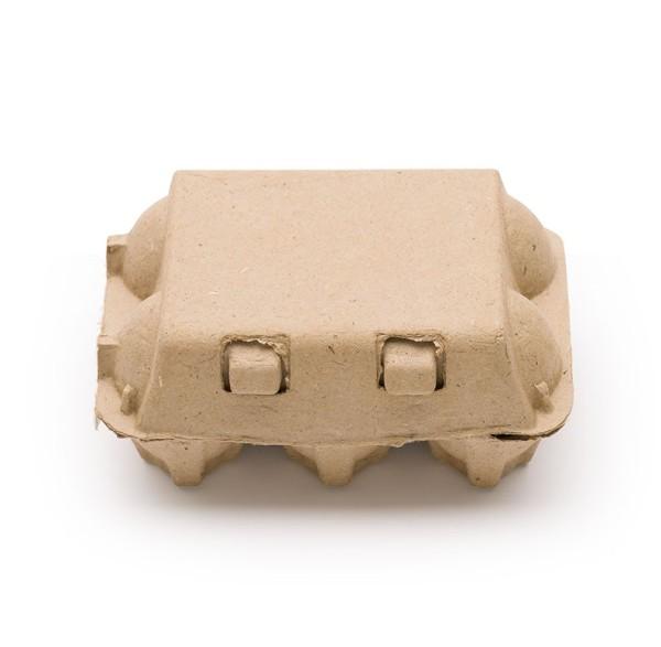 1 Stück GreenPack 6er Eierschachteln – die Holzalternative