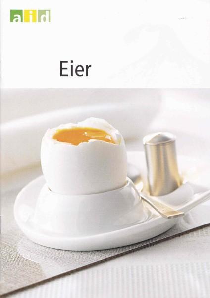 Info Broschüre zum Thema Eier