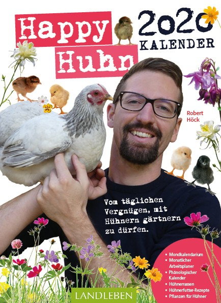 Happy Huhn Kalender 2020 eierschachteln.de