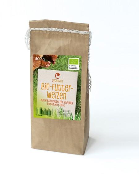 Bio Futterweizen, 500 g Beutel