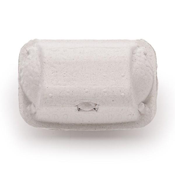 1.200 Stück DoppelPack 2er Eierschachtel, Vorteilspaket, weiß