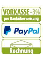 Unsere Zahlungsartent