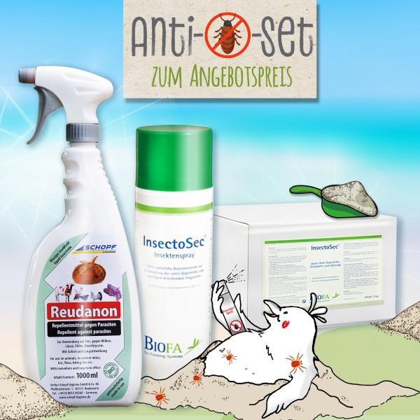 Anti-Milben-Set – Ungezieferbekämpfung: Gegen Flohe, Federlinge & Co.