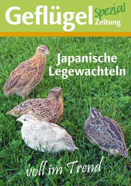 """Geflügelzeitung Spezial """"Wachteln"""""""
