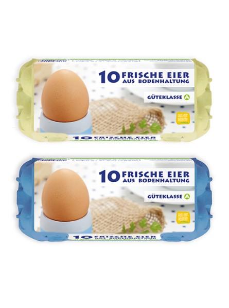HappyPack 10er Eierschachtel Bodenhaltung Vorteilspaket mit 300 Stück