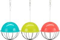 Farbenfroher Futterball / Salatspender für Hühner u. a. Tiere