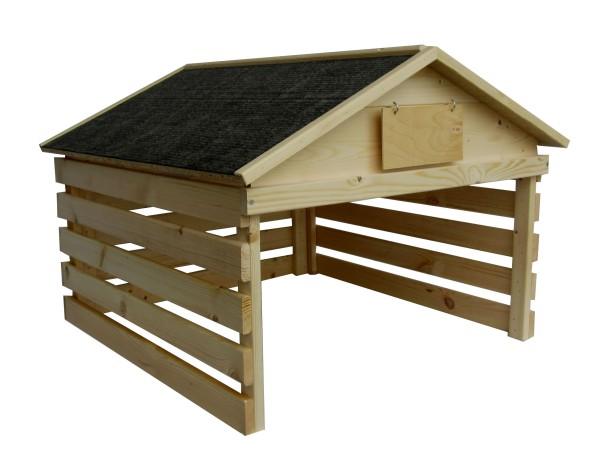 """Hühnerunterstand """"Hühnerholzhütte"""" – Hühnerparadies zum Schnellaufbau"""