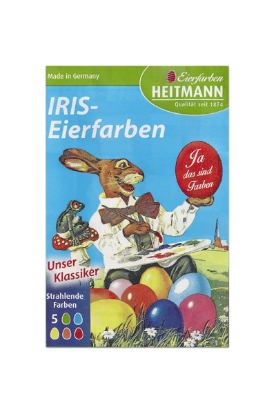 "Ostereierfarben ""Iris Eierfarben"", 5 Farben"